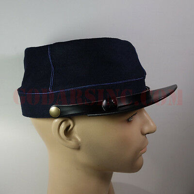 WWI French Army Dark Blue Kepi (Cuirassiers,Dragons,Cavalerie) 57 With FreeCover