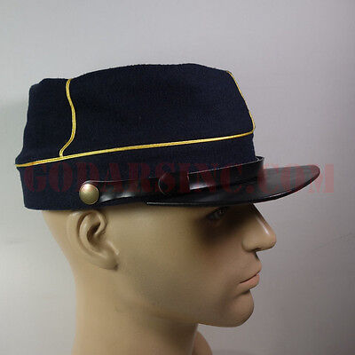 WWI French Army Dark Blue Kepi (Chasseurs / Light Infanterie)58 with Free Cover