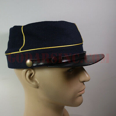 WWI French Army Dark Blue Kepi (Chasseurs / Light Infanterie)61 with Free Cover