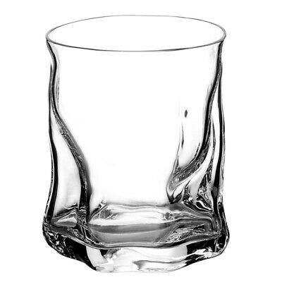 Sorgente Double Old Fashioned Glasses 420ml - Set of 6 - Whisky Rocks Glasses
