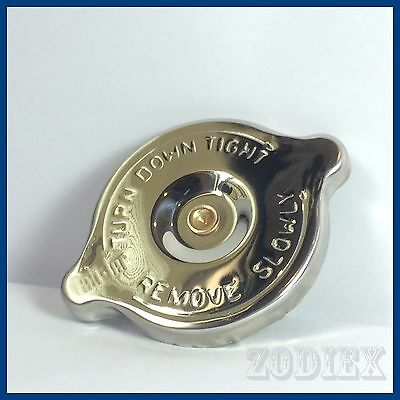 STAINLESS STEEL Radiator Rad Cap 10lbs fits  Land Rover MK1 MK2