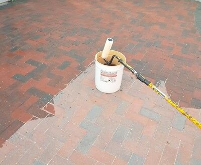 20 litre block paving sealer wet look with weed and Moss inhibit