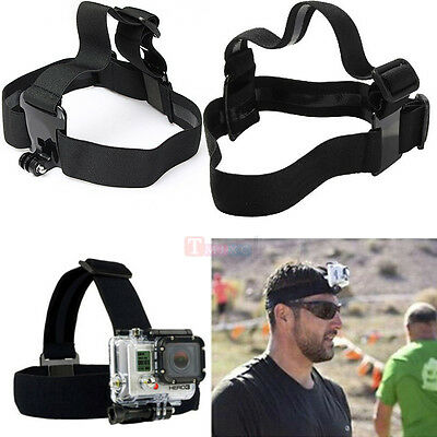 Adjustable Elastic Head Strap Head Band Head Belt For Gopro Hero 4 3+ SJ4000 yi