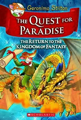 The Quest for Paradise by Geronimo Stilton Hardcover Book (English)