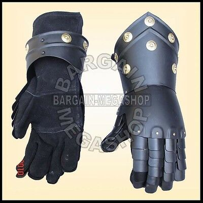 Medieval Gauntlets Functional Knight Mitten Gloves Re-enactment costume AS bb
