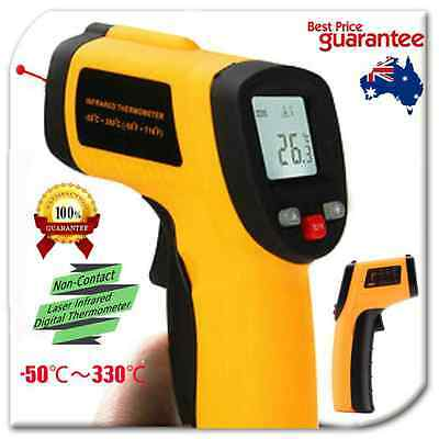 Digital Non-Contact Infrared IR Thermometer Temperature Laser Gun -50℃ to 330℃ S