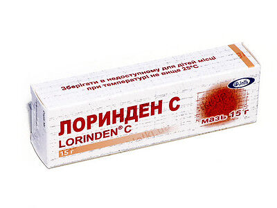 LORINDEN Ointment 15g without