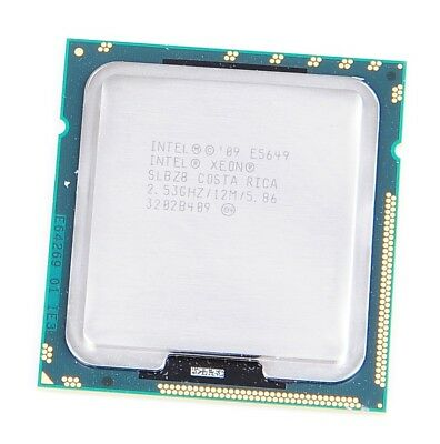 Intel Xeon E5649 SLBZ8 Six Core CPU 6x 2.53 GHz, 12 MB Cache, 5.86 GT/s, S. 1366