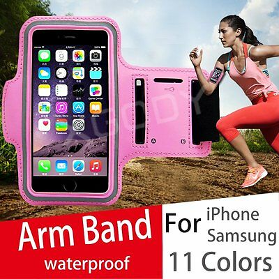 Sports Running Armband for iPhone 4 5 6 6+ Gym Jogging Arm Band Case Cover Strap