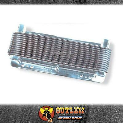 B&m Polished Transmission Oil Cooler - Bm70265