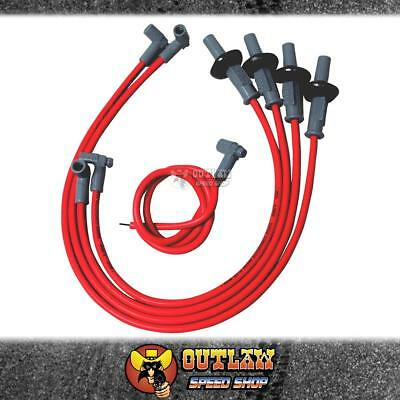 Msd Ignition Lead Kit 8.5Mm Vw Racer W/hei Super Conductor Red - Msd31939