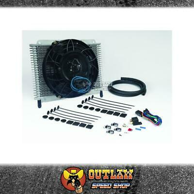 "Davies Craig Transmission Oil Cooler 21 Plate & 8"" Fan Combo Kit - Dc698"