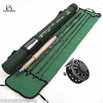 2WT Fly Rod And Fishing Reel Combo Super Light Fly Fishing Kit