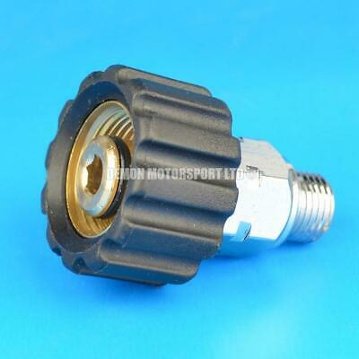Jet Wash Adaptor To Fit 1/4 Thread - Karcher M22 Female HD and HDS (14mm probe)