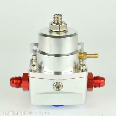 AN -8 (8AN) FPR Fuel Pressure Regulator Silver With An8 Fittings 100 Psi 1:1