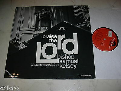 BISHOP SAMUEL KELSEY Praise The Lord *POLYDOR 60s CLUB SONDERAUFLAGE*