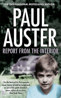 Report from the Interior, Auster, Paul, New