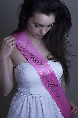 Pageant Birthday Homecoming Prom Sash (Choose your Color and Wording)