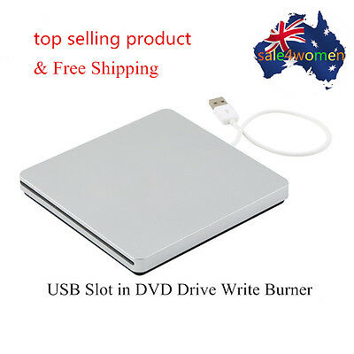 USB External Slot in DVD CD Drive Burner Superdrive for Apple MacBook Air Pro S#