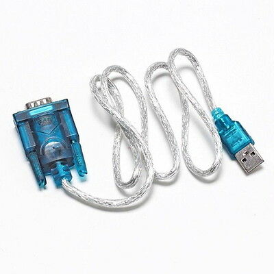 USB 2.0 TO SERIAL RS232 DB9 9 PIN ADAPTER CABLE PDA cord GPS CONVERTER S#