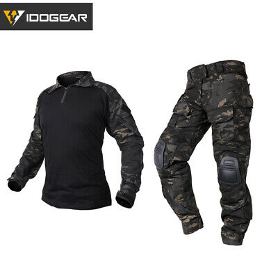 G3 Tactical BDU Emerson Airsoft Combat Hunting Uniform Clothing MultiCam Black