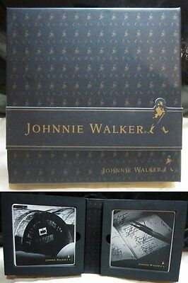 Johnnie Walker Coaster set - two in a box ( ceramic material)