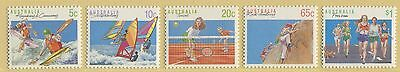 Sports Definitives Series Ii 1990 - Muh Set Of Five (Br39-Rr)