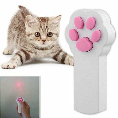 New Funny Pet Cat Dog Interactive Automatic Red Laser Pointer Exercise Toy S#