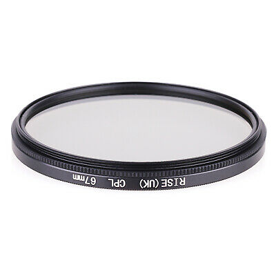 RISE(UK)  67MM CPL PL-CIR Polarizing Filter for DLSR 67mm lens