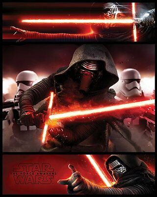 Star Wars Episode VII Kylo Ren Panels - Mini Poster 40cm x 50cm MPP50602 - M132