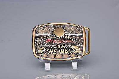 Bts Snap On Limited Edition 1988 Leading The Way Ddc-1232 Brass Belt Buckle 0330