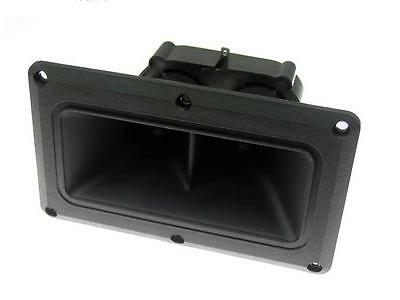 """SS Audio for Peavey 115TLS Horn Tweeter Replacement Dual Driver 3.75"""" x 6.375"""""""