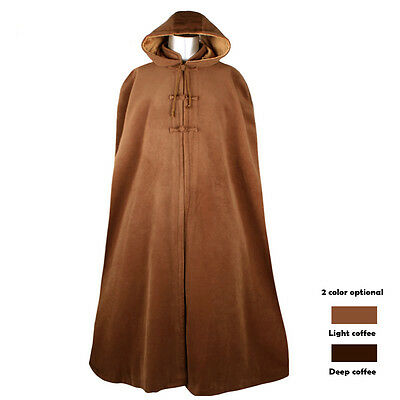 Thickened Warm Buddhist Meditation Zen Monk Lay Cloak Long Robe Gown Clothing