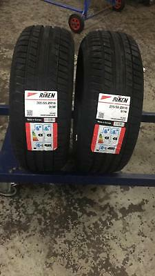 2 X 205/55R16 Riken Michelin Made New Tyres High Performance Tyre