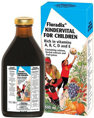 Floradix Kindervital Multivitamin & Mineral for Children (500ml)