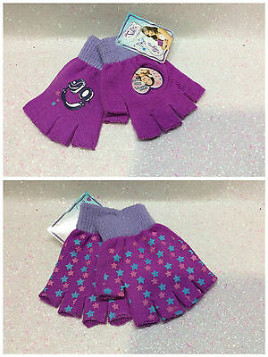 Violetta Disney Guanti Senza Punte Con Stampa Gloves Without Tips Gants