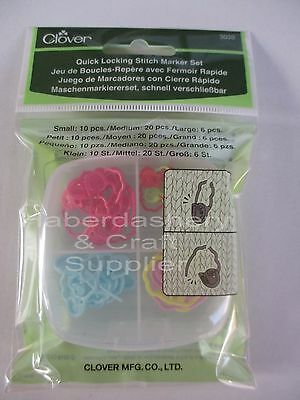 Yarn Locking Stitch Markers Set