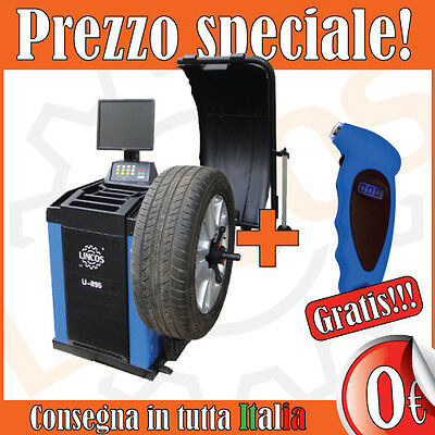 Lincos - Equilibratrice automatica con display LCD, U-895