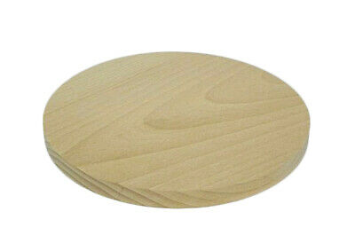 Circular wooden cutting chopping board 8 inches kitchen solid wood round plain