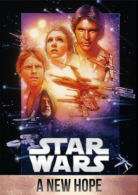 "Star Wars Episode IV 4- A New Hope Wall Movie Poster 34""x24"""