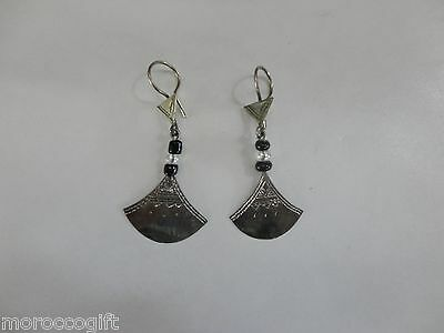 Handcrafted African Tuareg Berber  Earrings Ethnic Tribal Jewelry Niger