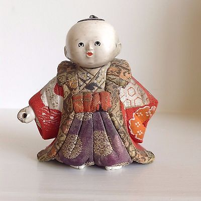 Antique Gosho-Ningyo Japanese Doll Young Child