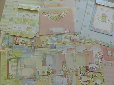 San-X Sumikko 95 pc Stationery  Letter Set + MEMO + STICKERS paper envelope cute