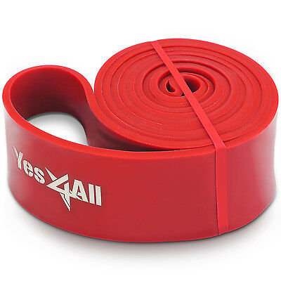 "Power Exercise Resistance Band 2.5"" Red Fitness Gym YoGa - ²EF4AD"