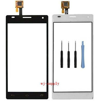Top Front Outer Touch Screen Digitizer Glass Panel for LG Optimus LTE 2 II F160