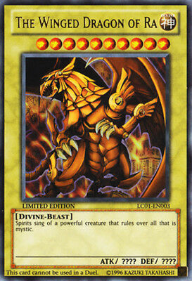 Yugioh Card - The Winged Dragon of Ra *Ultra Rare* LC01-EN003 (NM/M)