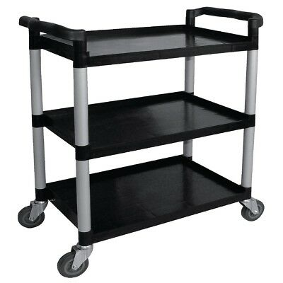 Vogue Polypropylene Mobile Trolley Large Cart Restaurant Kitchen Dolly Truck