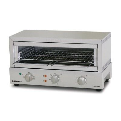 Roband Toaster/Griller GMX810 Griddle Kitchen Cooking Cafe Equipment