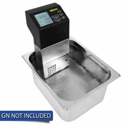 Apuro Portable Sous Vide 1500W LCD Display Food Cooker Commercial Kitchenware