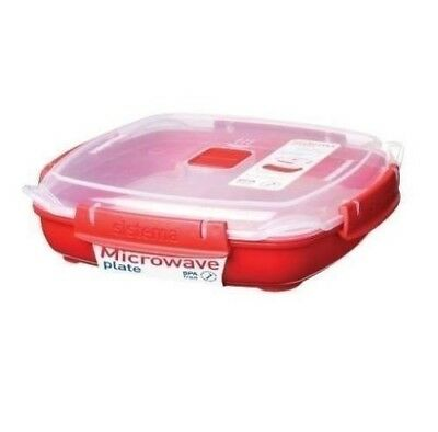 Sistema 880 ml Medium Microwave Plate Removable Poaching Cooking NEW